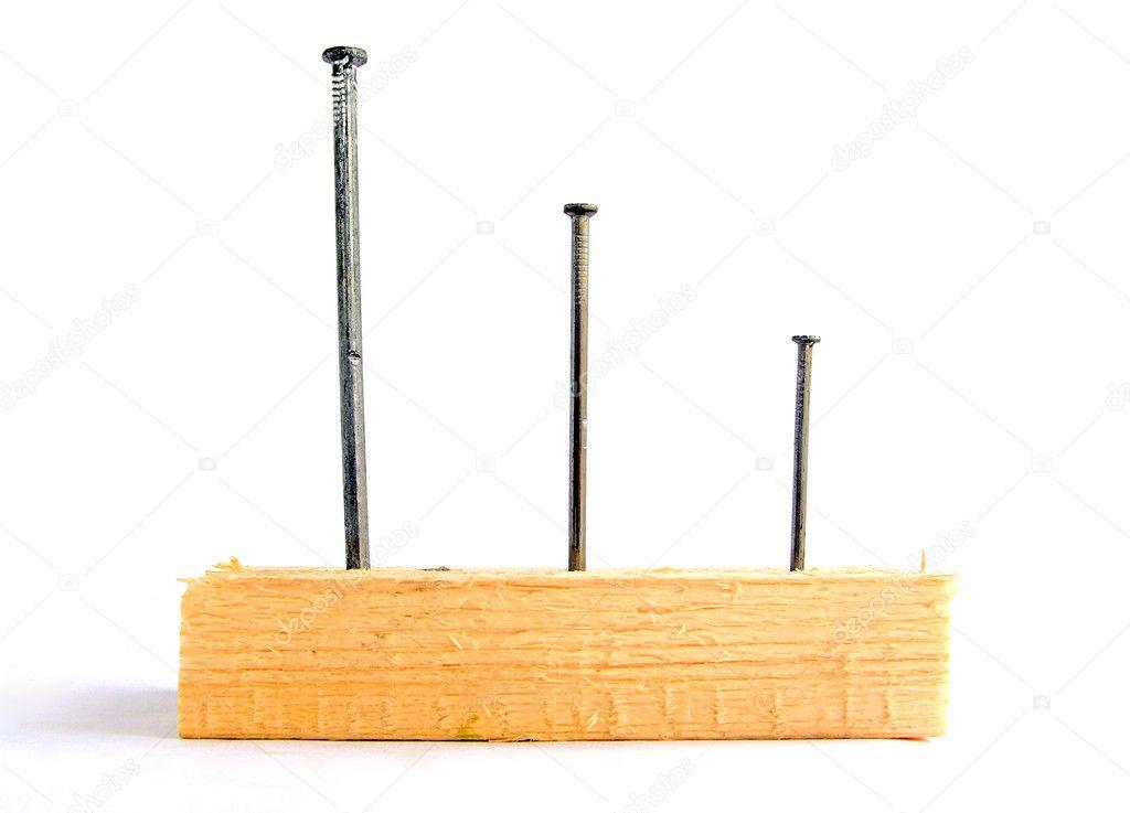 Какой гвоздь для достки 25 мм и 50мм?