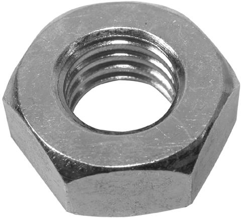 Гайка шестигранная, оцинкованная DIN 934