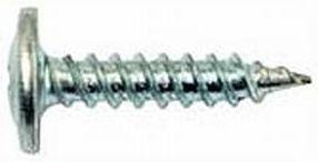 Саморез с пресшайбой для крепления листового металла к металлическим профилям, острый